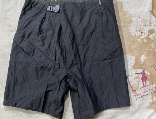 MotivMfg full metal mian shorts cotton stainless steel