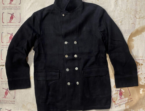 MotivMfg db barrell coat linen canvas black
