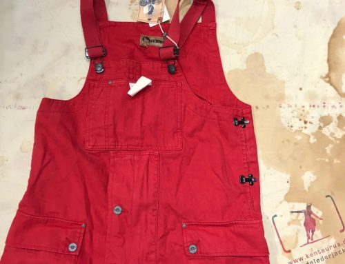 Nigel Cabourn naval dungaree red
