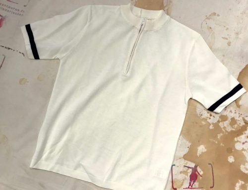 G.R.P.  zip corta white cotton