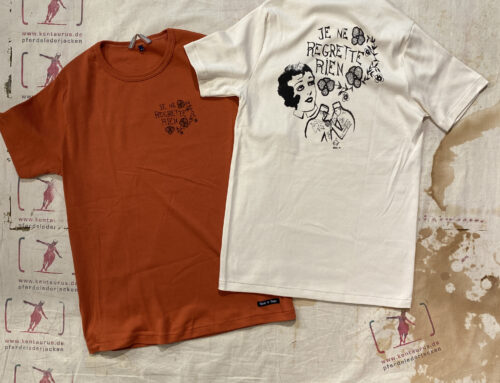 Fleurs de Bagne tee shirts nature and coral