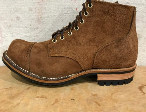 Viberg Service Boot  SB Foot aged bark rough out