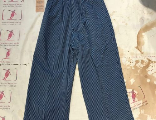 Scartilab wide leg pant blue striped