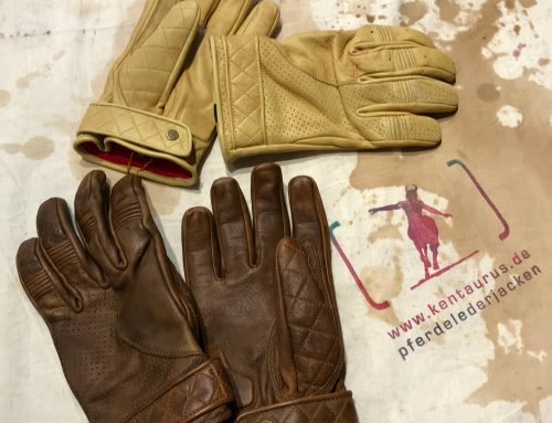 Goldtop, UK: bobber gloves brown and tan