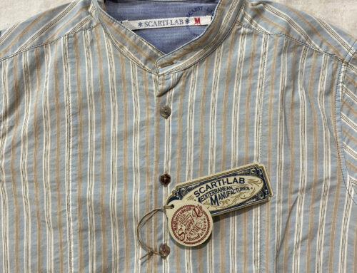 Scartilab 304SB412 Cotton Shirt Striped