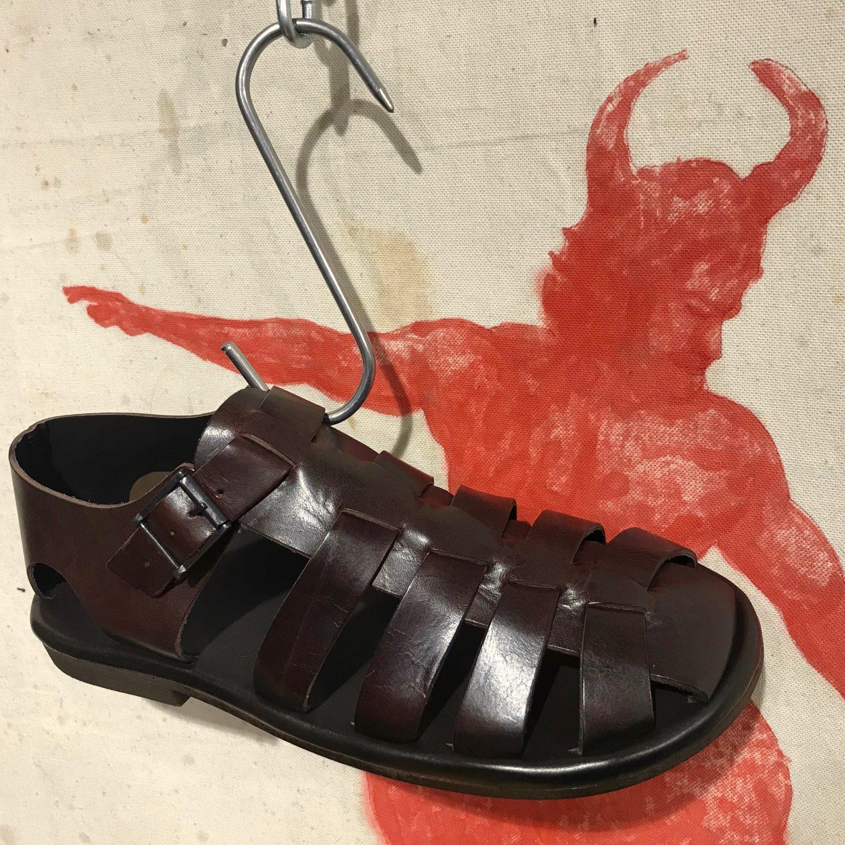 Zeha leder-sandale