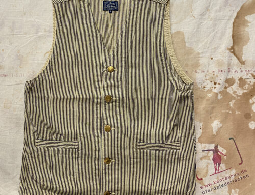 Studio D´Artisan 4515 Rail Road Hickory Vest Beige Stripes