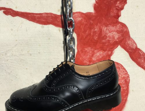 Solovair black brogue