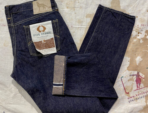 Studio D´Artisan FOX001 Fox Pants Coyote Denim OW