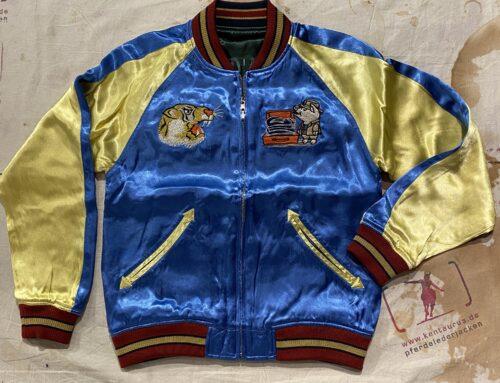 Studio D´Artisan 4512 Souvenir Jacket Reversibel Blue/Green
