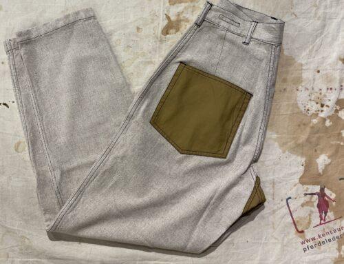 """Fleurs de Bagne Le Pantalon """"French Army Cargo Classic"""" Pant Natural Linen"""