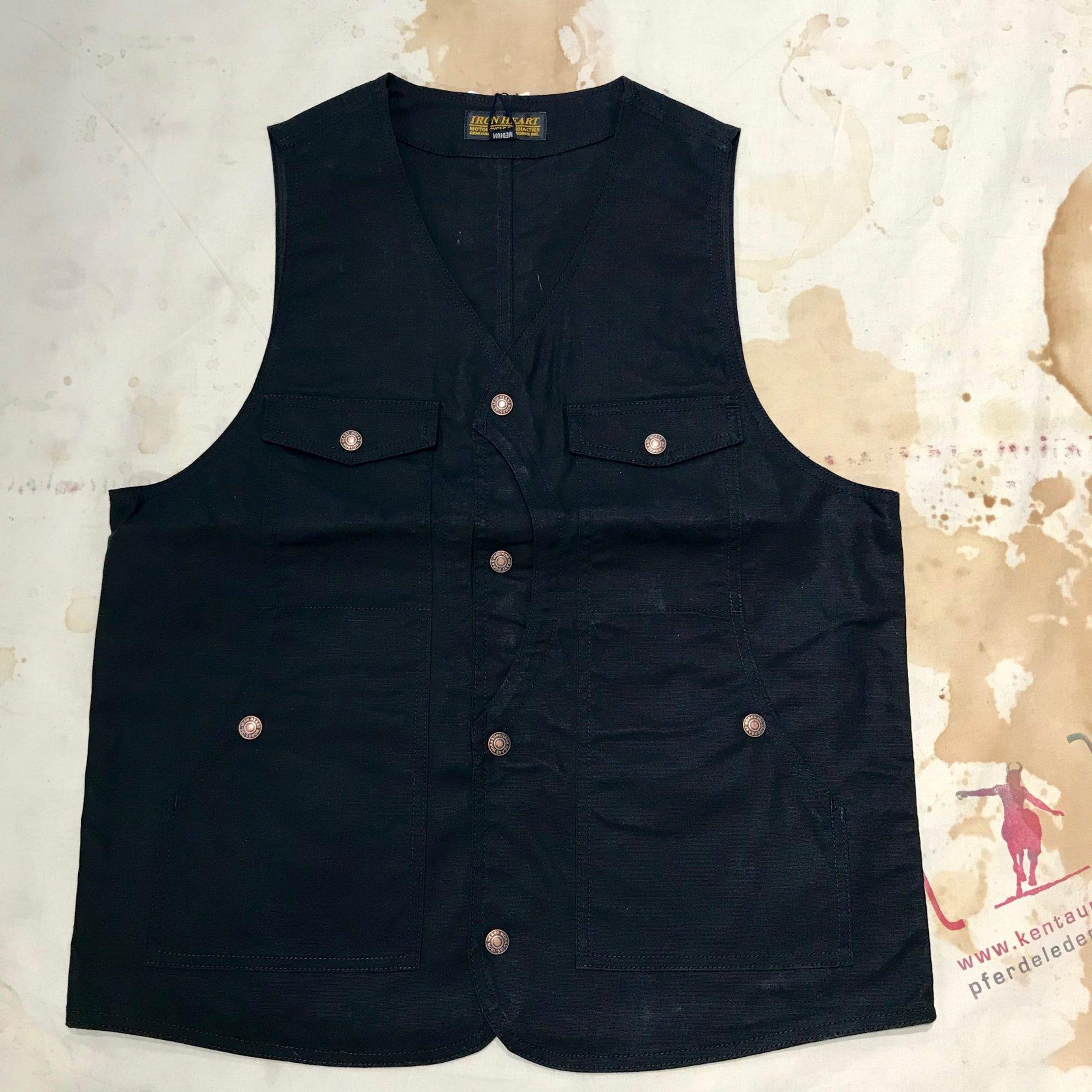 Iron Heart IHV-34 black hunting vest