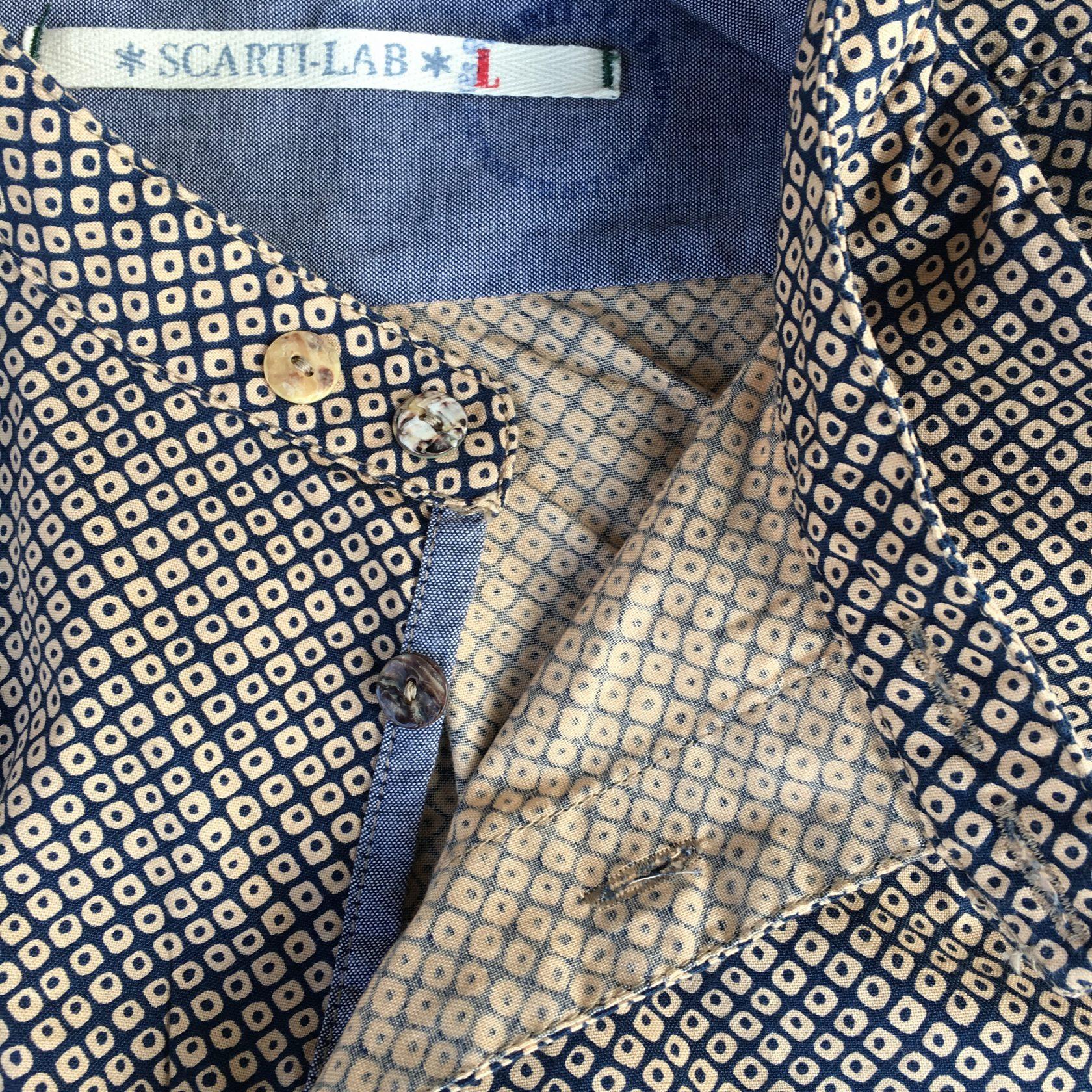 Scartilab SS17 cotton shirt