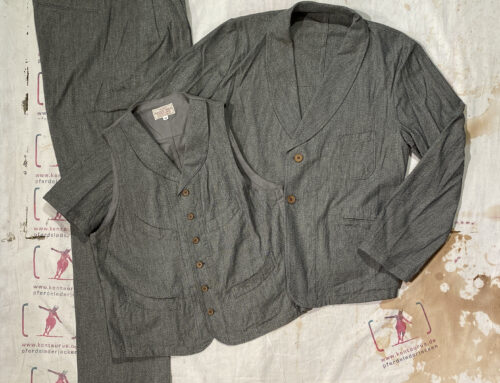 Adjustable Costume cotton linen 3 piece suit olive