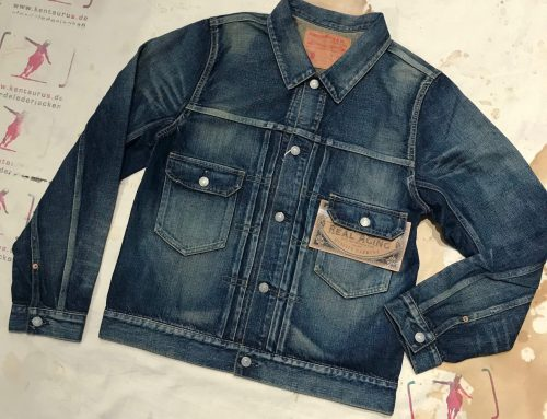 Studio D`Artisan D444OU aged denim jacket