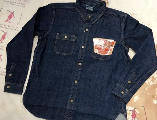 Studio D`Artisan denim shirt