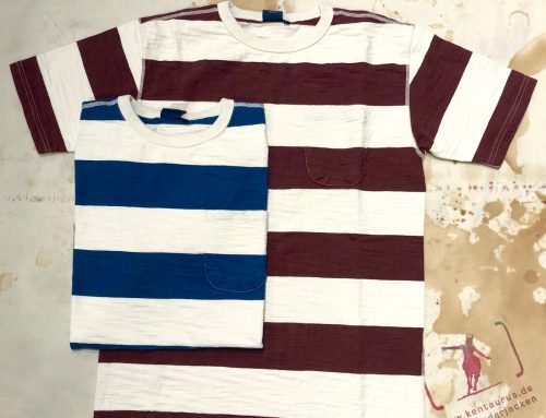 Studio D`Artisan striped knit t-shirt