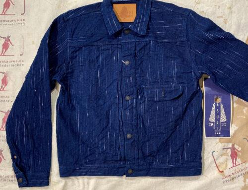 Studio D´Artisan D4508 OW Kasuri Denim Jacket