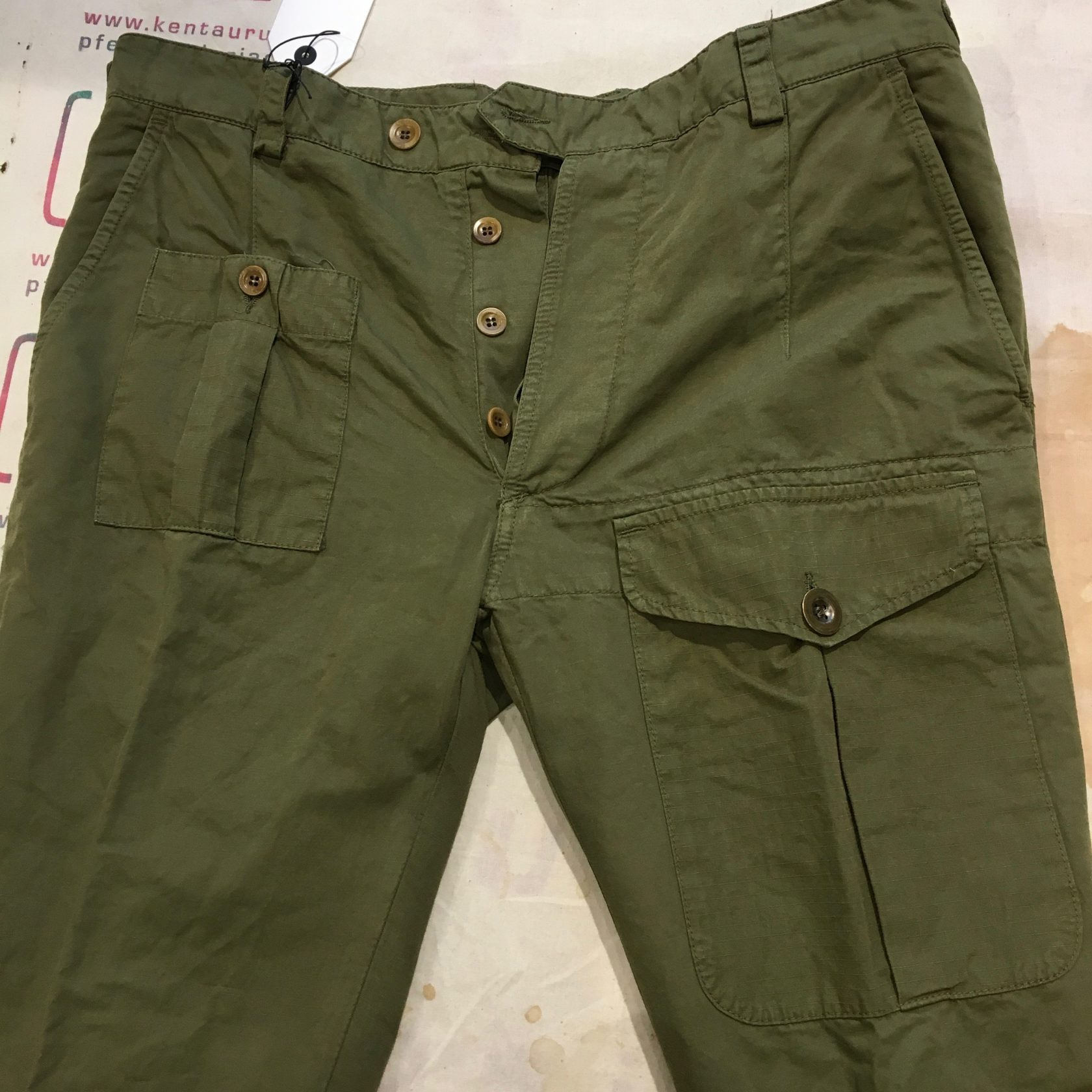 East Harbour Surplus meyer pant green