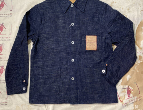 Studio D´Artisan D4509 OW Heritage Production Overall Jacket