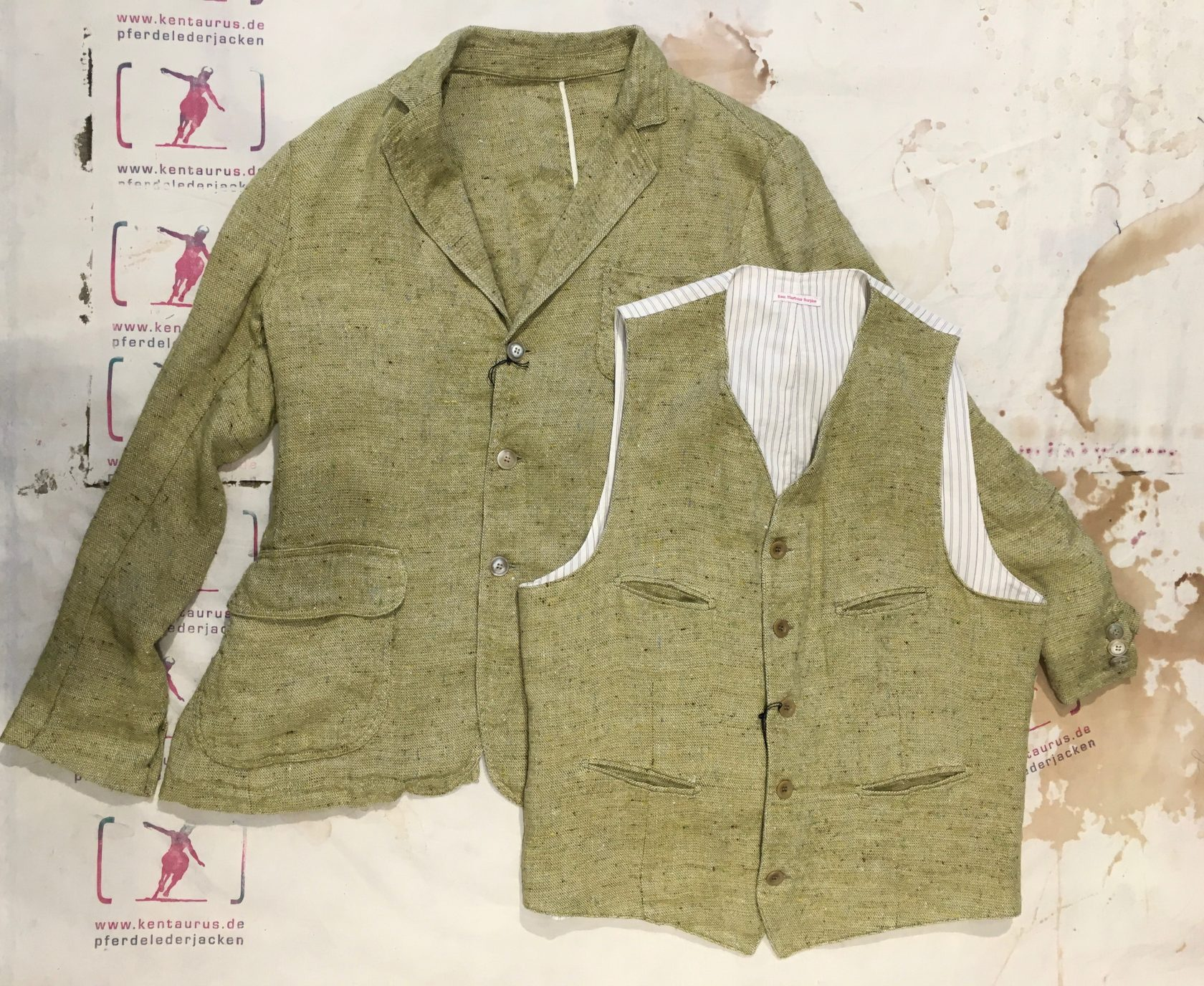 East Harbour Surplus jacket & vest