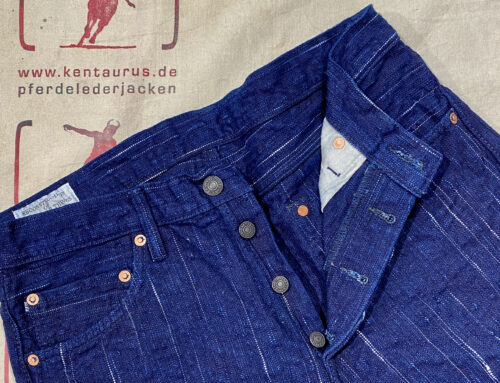 Studio D´Artisan D1823 Kasuri Denim Pant