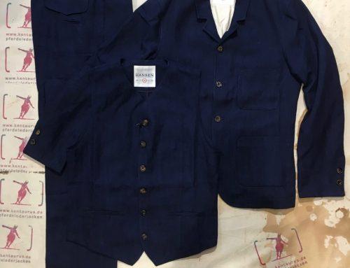Hansen  3piece suit indigo