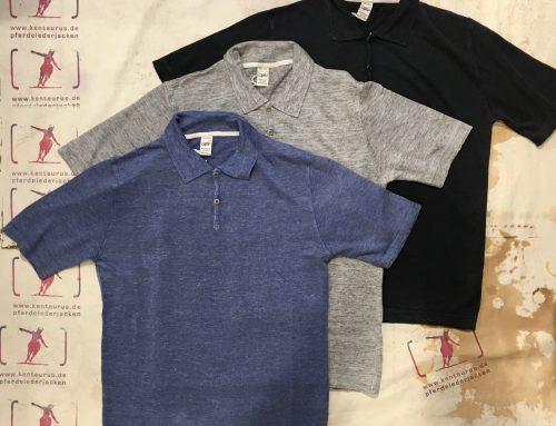 G.R.P.  linen polo shirts