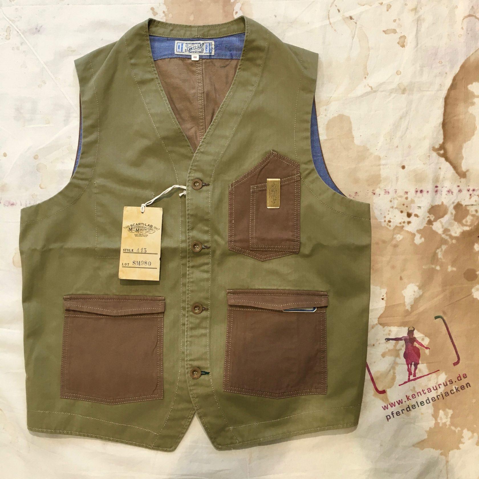 Scartilab SS17 cotton vest
