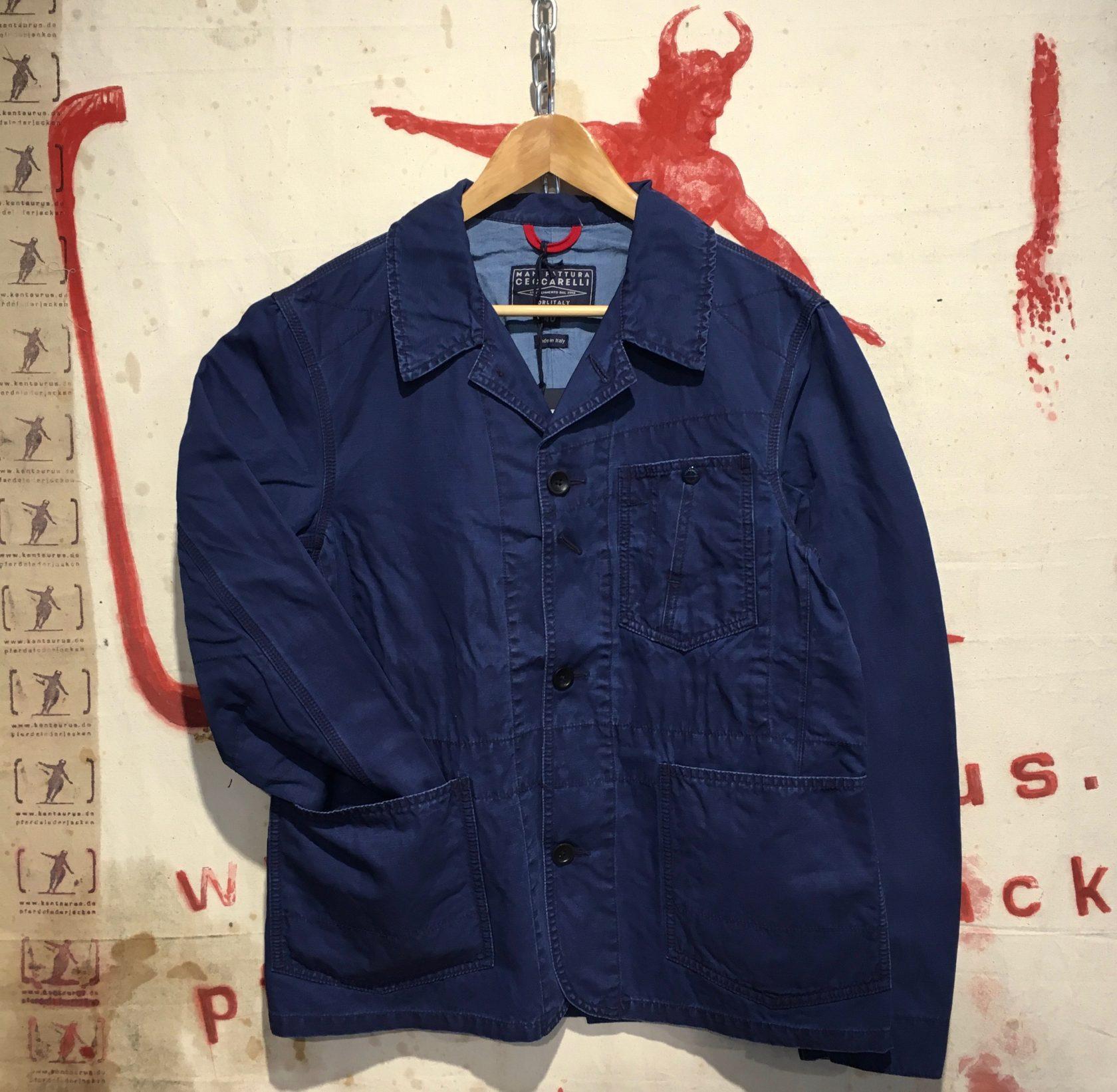 Ceccarrelli SS17 miner`s jacket navy