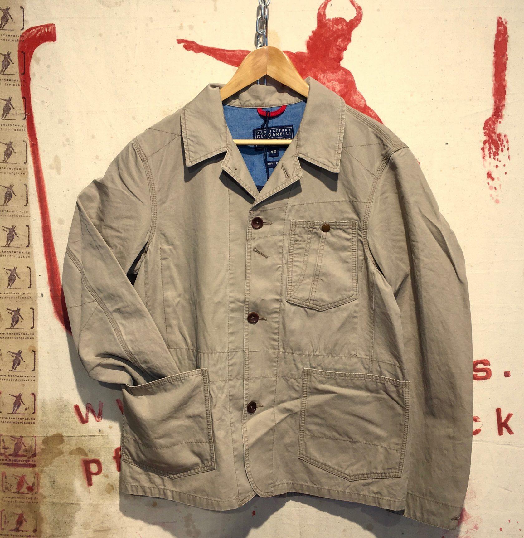 Ceccarelli SS17 miners jacket tan