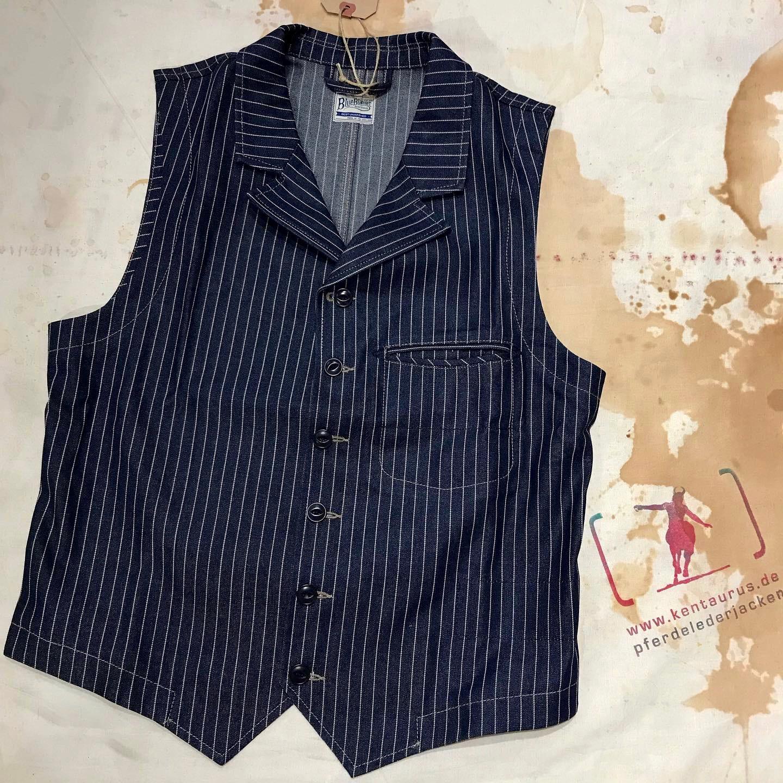 Blue Blanket: blue wabash vest
