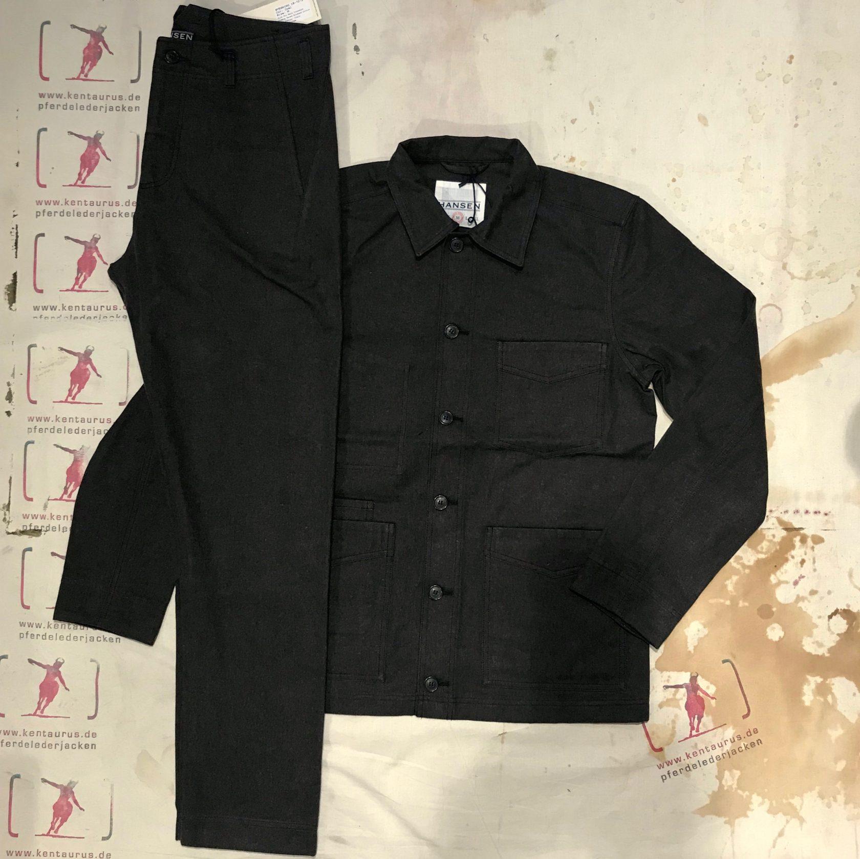 Hansen work suit coal