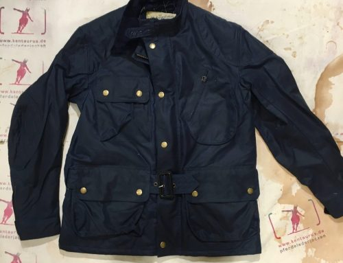 Les Motocyclettistes wax jacket