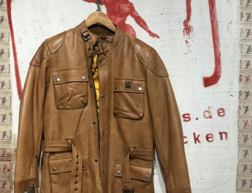 Goldtop patrol jacket
