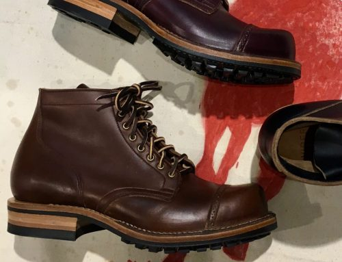 Viberg Service Boot brown cxl