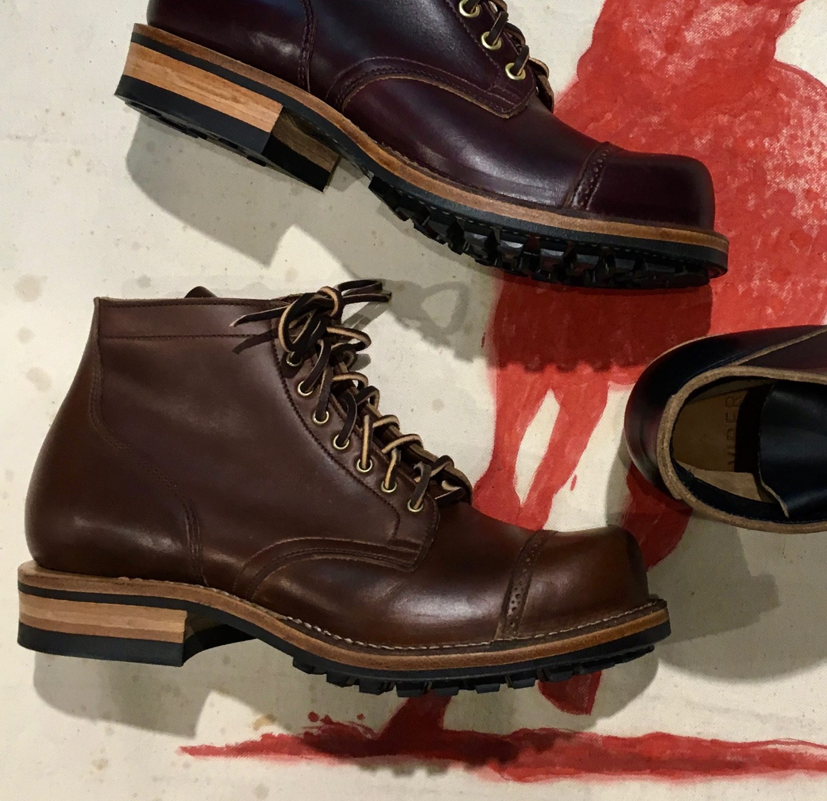 Viberg Service Boot brown cxl