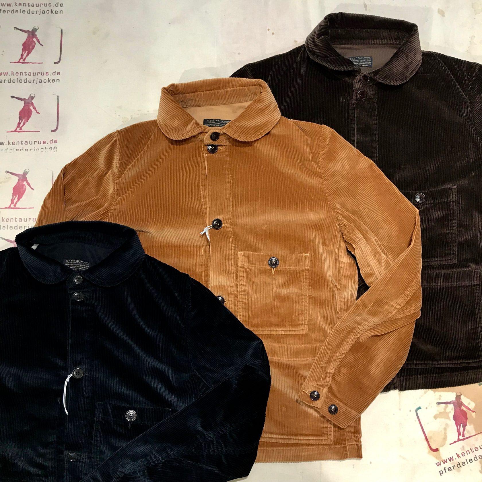 1st-Pat-rn: laboratorio cord jacket