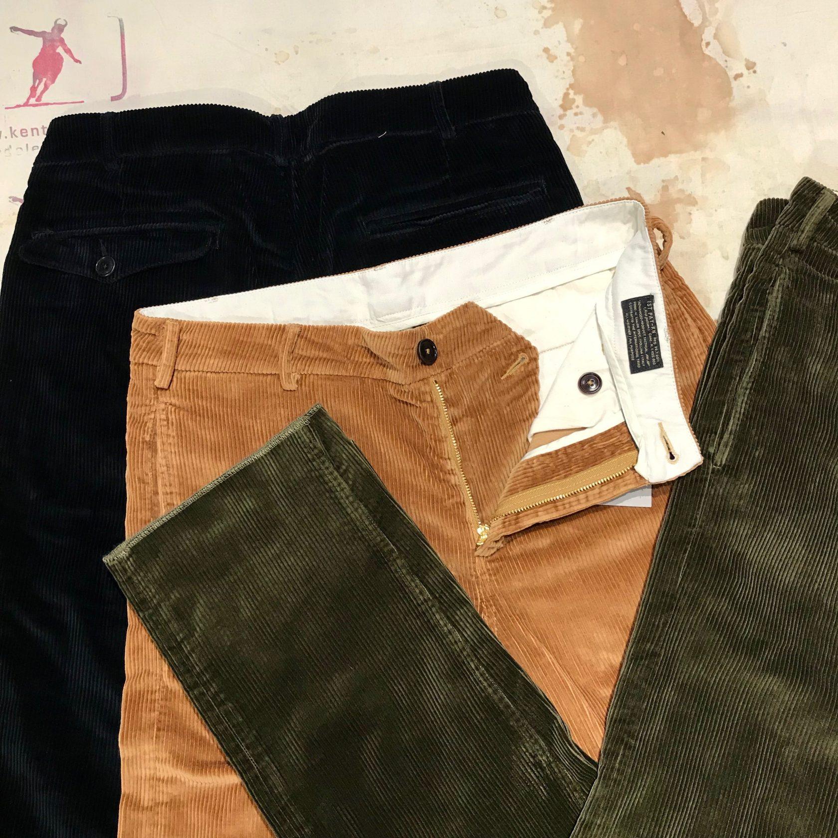 1st Pat-rn: yale cord pants