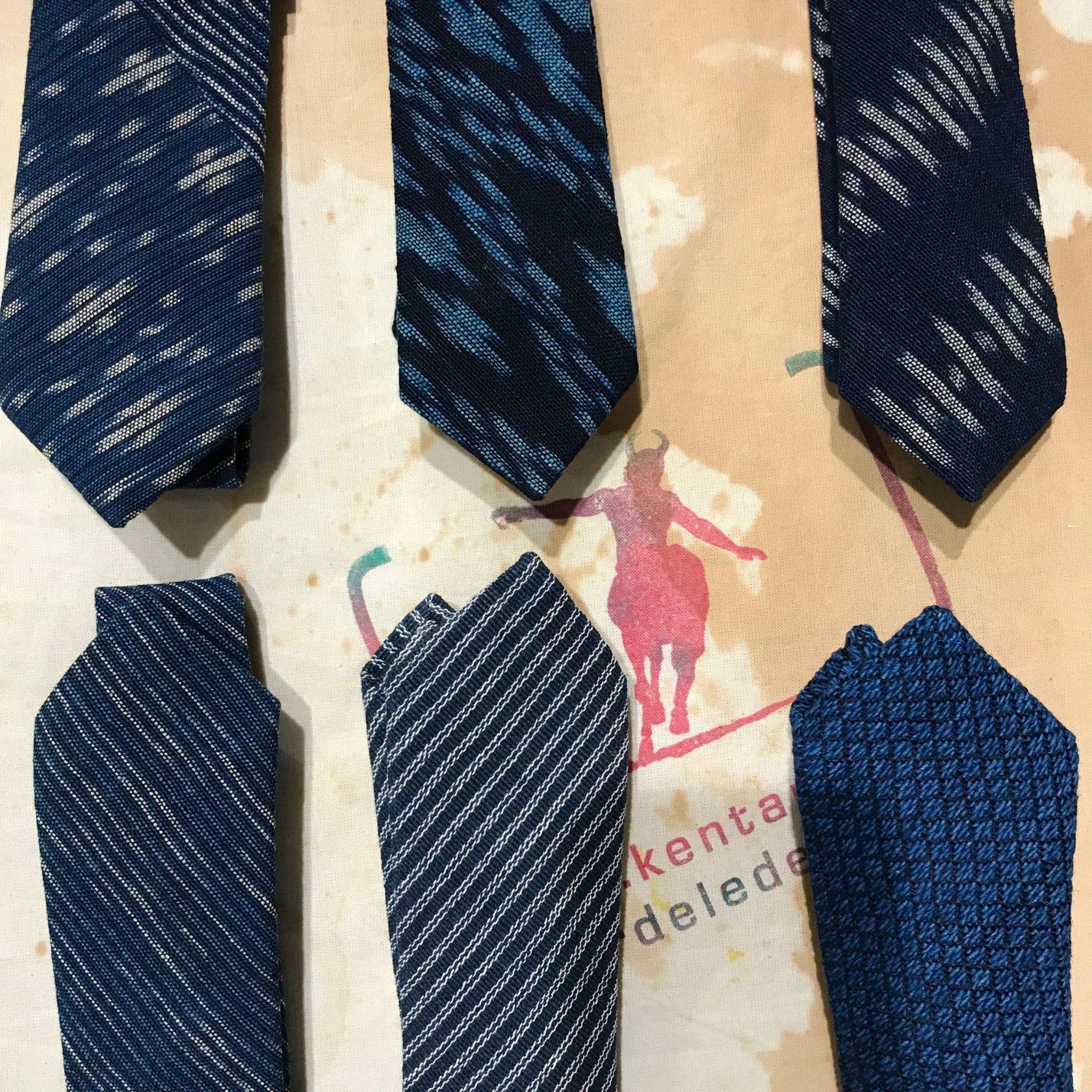 Indigo People: Krawatten