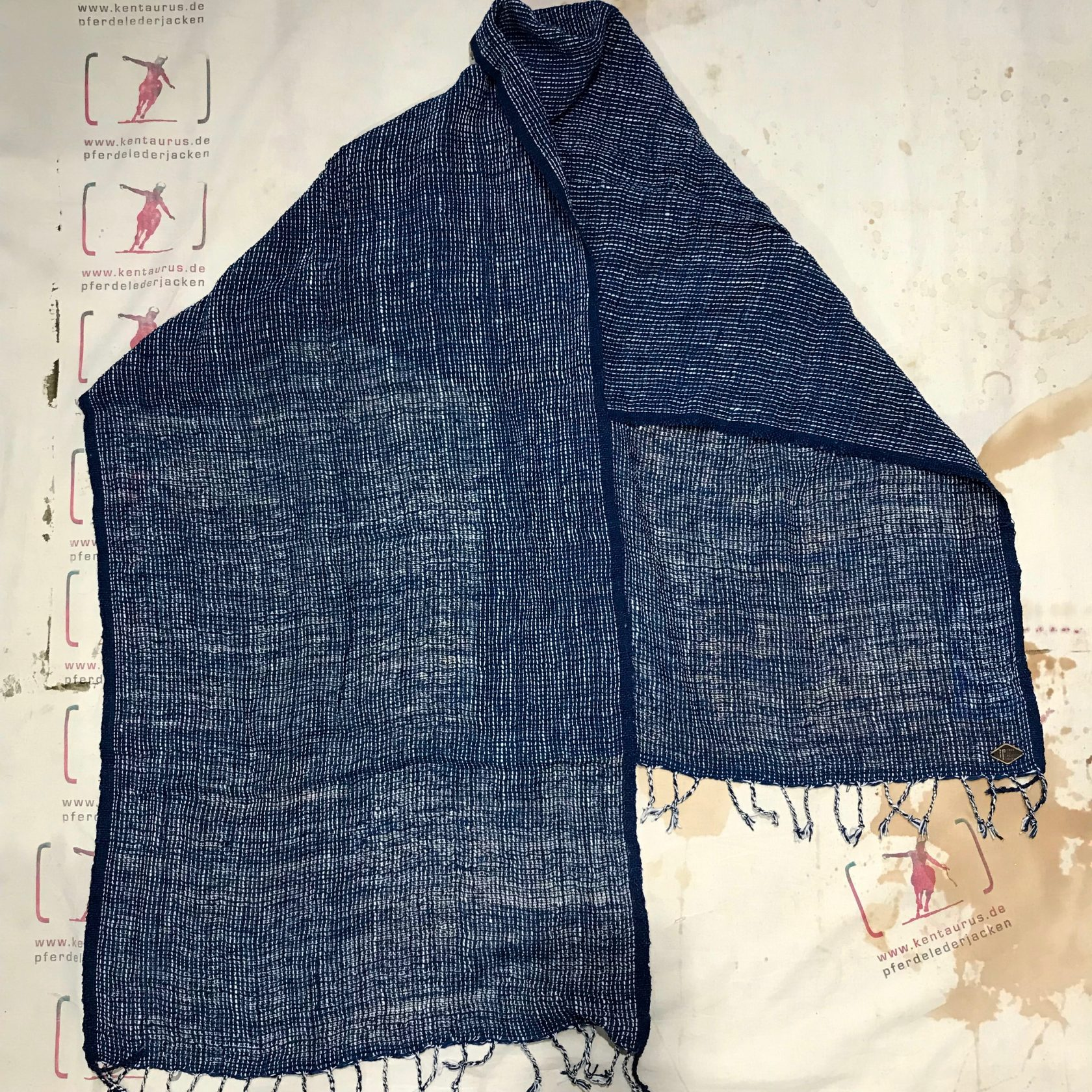 Indigo People: minori scarf