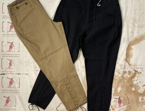 Adjustable Costume jodhpur pants black and khaki