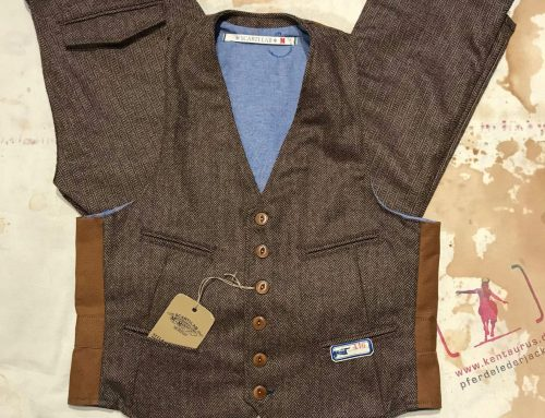 Scartilab 410SE941 Wool Vest & Scartilab 101SE941 Wool Pant Tobacco Brown