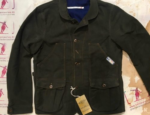 Scartilab AW17 moleskin jacket