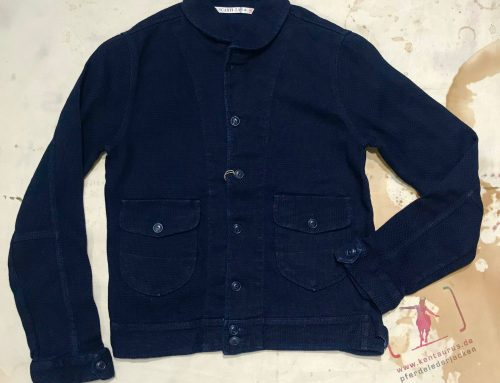 Scartilab indigo cotton jacket