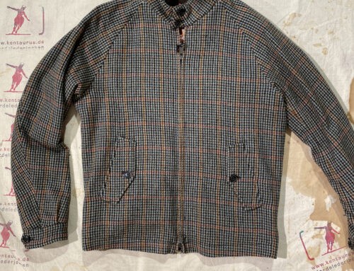 Baracuta G4 wool check