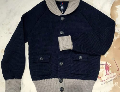 A Piece of Chic wool flight jacket navy