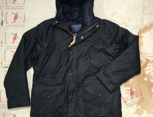Ceccarelli fisherman parka black goose down