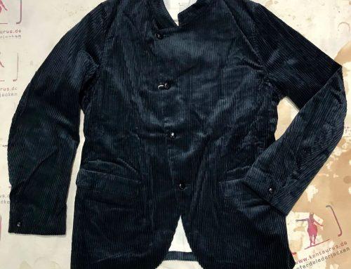 Haversack black cord jacket