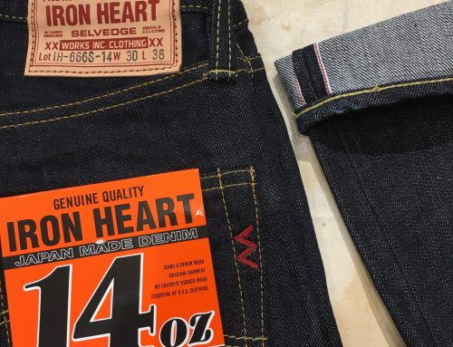 Iron Heart IH-666S 142  14oz indigo